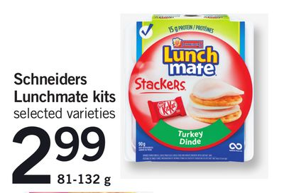 Schneiders Lunchmate Kits - 81-132 g