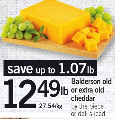 Balderson Old Or Extra Old Cheddar