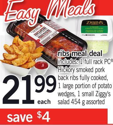 Ribs Meal Deal