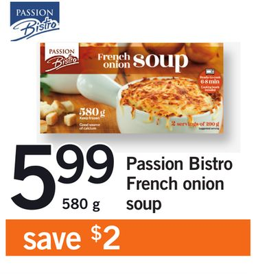 Passion Bistro French Onion Soup - 580 g