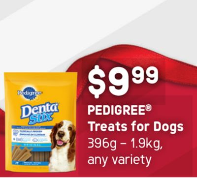 Pedigree Treats For Dogs - 396g – 1.9kg