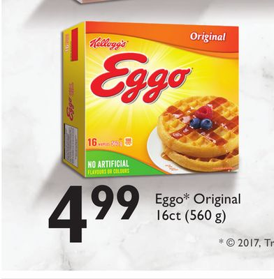 Eggo Original 16ct (560 G)