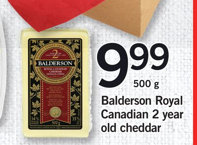 Balderson Royal Canadian 2 Year Old Cheddar