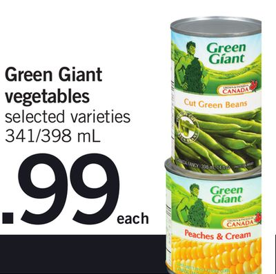 Green Giant Vegetables