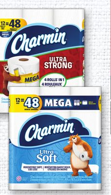 Charmin Bathroom Tissue - 12 Mega Rolls