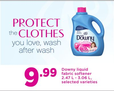 Downy Liquid Fabric Softener - 2.47 L - 3.06 L