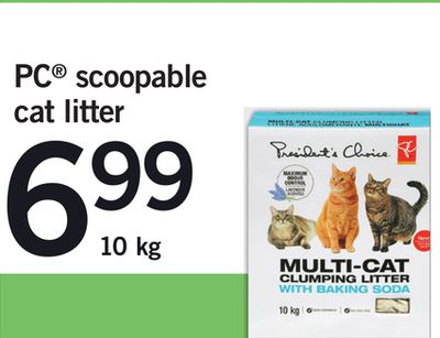 PC Scoopable Cat Litter - 10 Kg