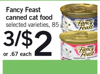 Fancy Feast Canned Cat Food