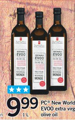 PC New World Evoo Extra Virgin Olive Oil - 1 L