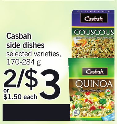 Casbah Side Dishes - 170-284 g