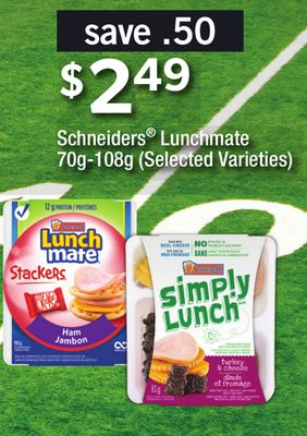 Schneiders Lunchmate - 70g-108g