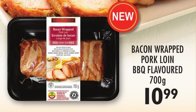Bacon Wrapped Pork Loin Bbq Flavoured - 700 G