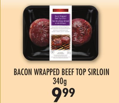 Bacon Wrapped Beef Top Sirloin - 340g