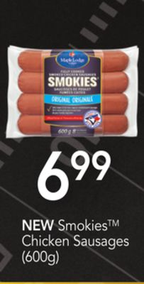 Smokies Chicken Sausages - (600g)