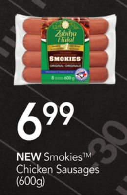 New Smokies Chicken Sausages (600g)