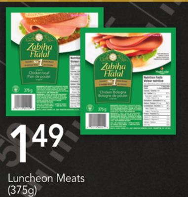 Luncheon Meats - (375g)