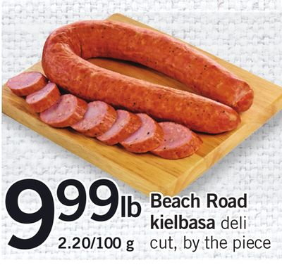 Beach Road Kielbasa