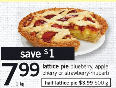 Lattice Pie - 1 Kg