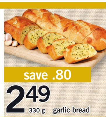 Garlic Bread - 330 g