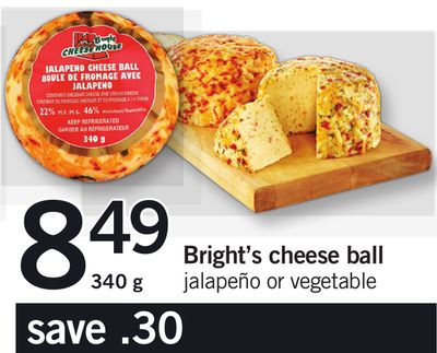 Bright's Cheese Ball - 340 g