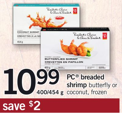 PC Breaded Shrimp - 400/454 g