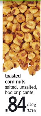 Toasted Corn Nuts - 3.79lb
