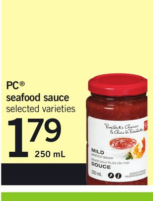 PC Seafood Sauce - 250 mL
