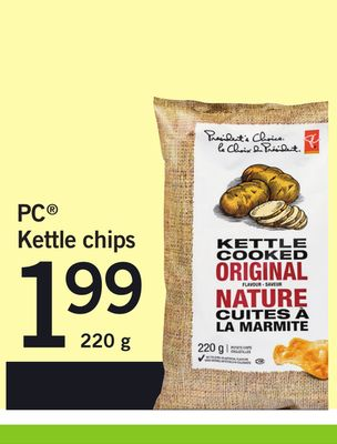 PC Kettle Chips - 220 g