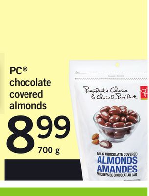 PC Chocolate Covered Almonds - 700 g