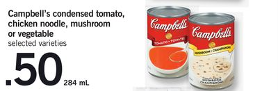 Campbell's Condensed Tomato - Chicken Noodle - Mushroom Or Vegetable - 284 mL