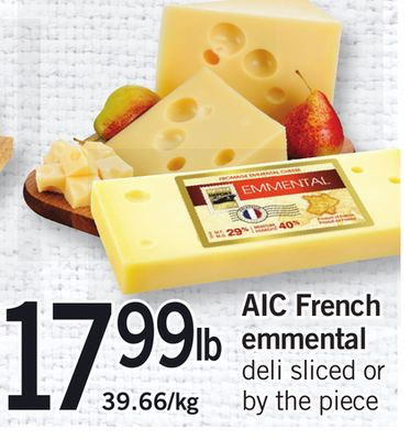 Aic French Emmental