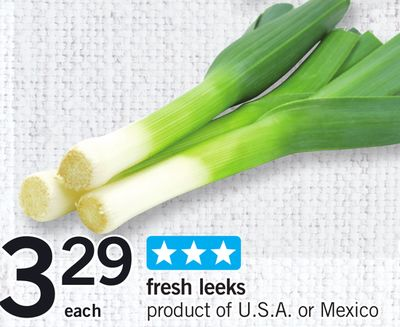 Fresh Leeks - Each