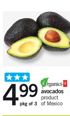 Avocados - Pkg Of 3