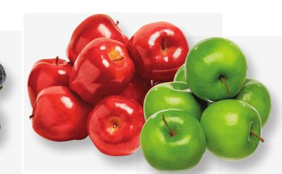 Granny Smith Or Red Delicious Apples.