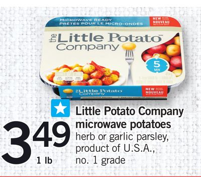Little Potato Company Microwave Potatoes - 1 Lb