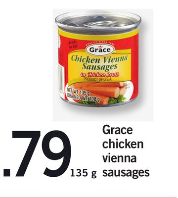 Grace Chicken Vienna Sausages - 135 g