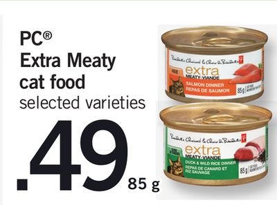 PC Extra Meaty Cat Food - 85 g
