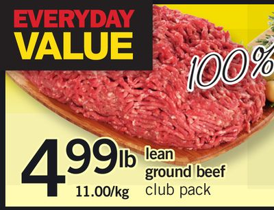 Lean Ground Beef Club Pack