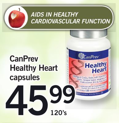 Canprev Healthy Heart Capsules - 120's