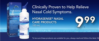 Hydrasense Nasal Care Products 100 mL