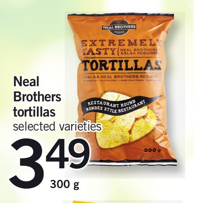 Neal Brothers Tortillas - 300 g