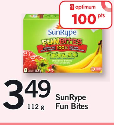 Sunrype Fun Bites - 112 g