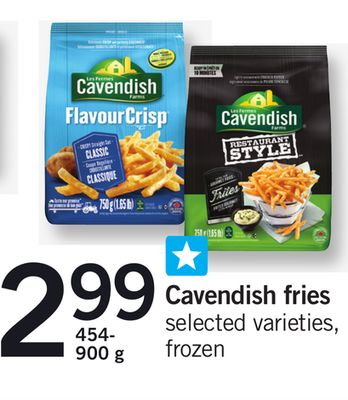 Cavendish Fries - 454- 900 g