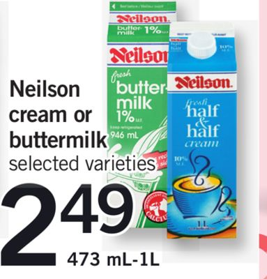 Neilson Cream Or Buttermilk - 473 Ml-1l