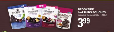 Brookside Barkthins Pouches - 150g - 235g