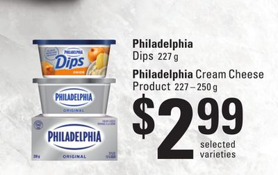 Philadelphia Dips - 227 g - Philadelphia Cream Cheese Product - 227 – 250 g
