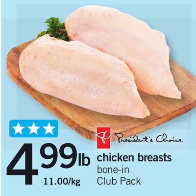 PC Chicken Breasts Bone-in