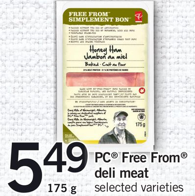 PC Free From Deli Meat - 175 g