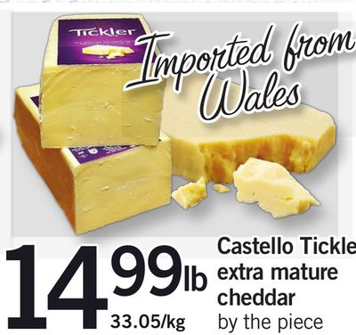 Castello Tickle Extra Mature Cheddar By The Piece