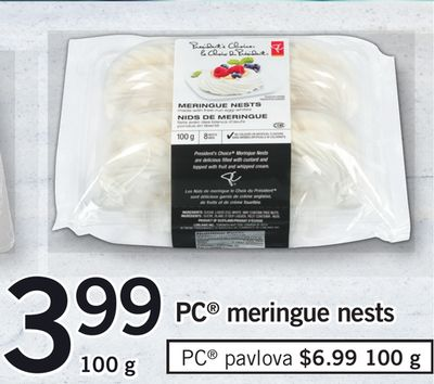 PC Meringue Nests - 100 g